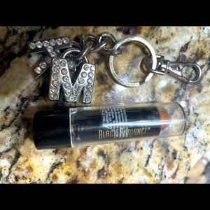 Authentic MK keychain or purse accessory SILVER